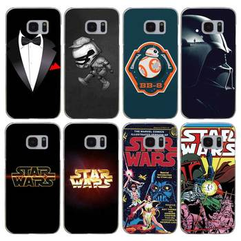 H441 Darth Maul Star Wars Şeffaf Sert PC Case Kapak Samsung Galaxy S Için 3 4 5 6 7 8 Mini Kenar Artı Not 3 4 5 8