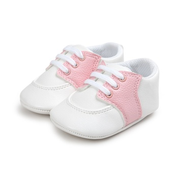 2017 Baby Boy Girl Soft Shoes Pram Crib Classic Casual Children First Walkers Unisex Mixed Sneakers