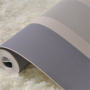 Beibehang Modern fashion Luxury Vertical stripes Glitter Non-woven wall paper Roll Home Decoration silver Coffee Grey Golden
